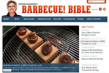 Screenshot of Barbecue Bible