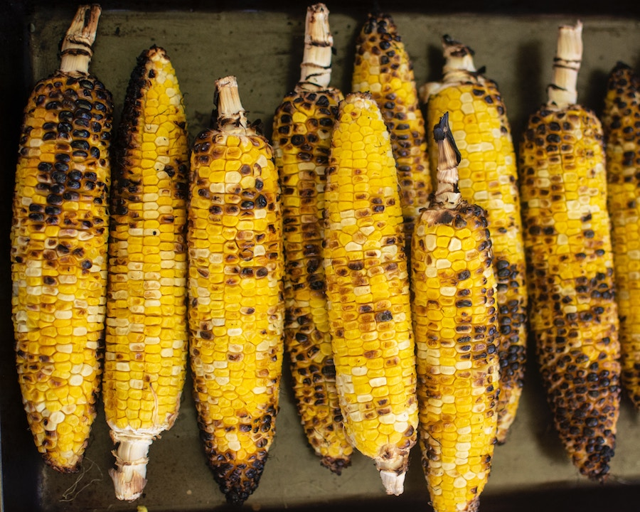 Smoked Chicken Side - Grilled Corn