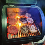 Smoked Burgers on the Smoker Grill