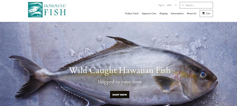 Honolulu Fish Hompage