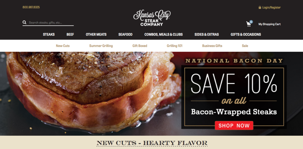 Kansas City Steaks Online Meat Delivery