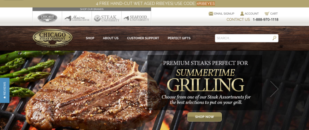 My Chicago Steak Homepage