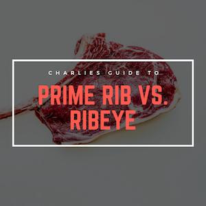 Prime Rib vs. Ribeye