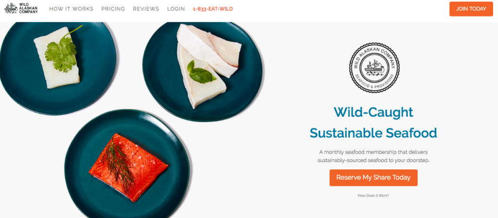 Wild Alaskan Company Home Page