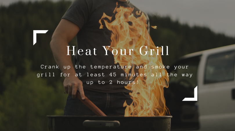 How To Season A Grill Step 3