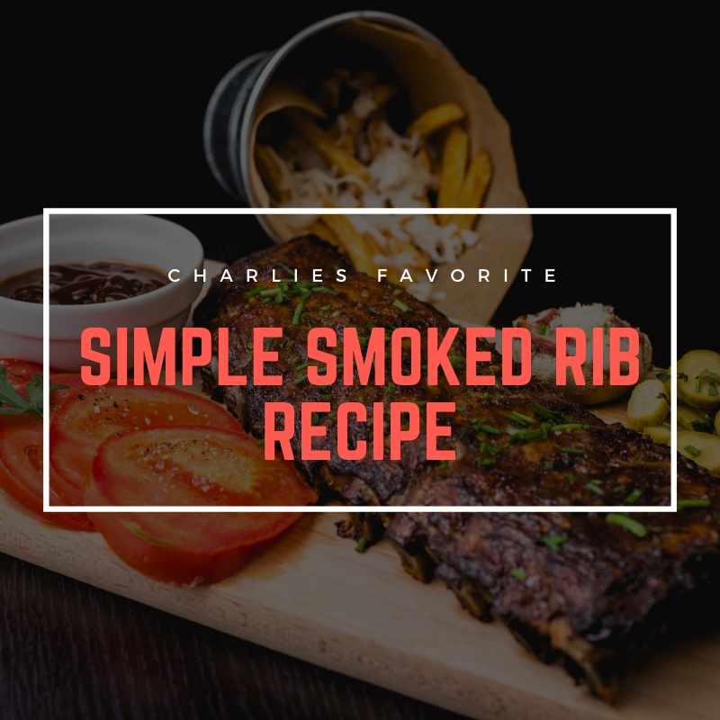 3-2-1 Simple Smoked Ribs Recipe