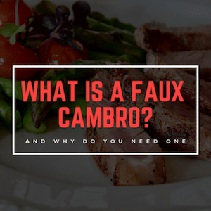 How To Use A Faux Cambro