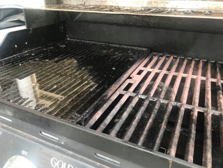 How to remove grill mold
