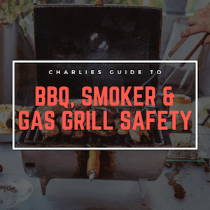 Barbecue Smoker And Gas Grill Safety