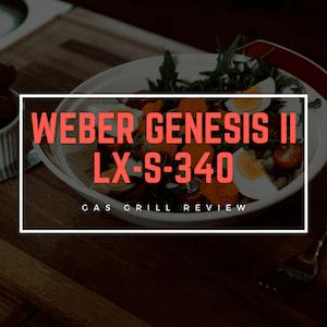 Weber Genesis II LX S-340 Gas Grill