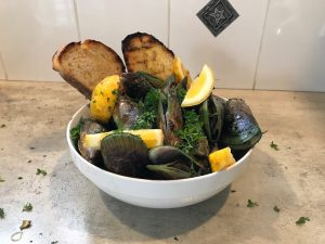 Grilled Mussels Recipe