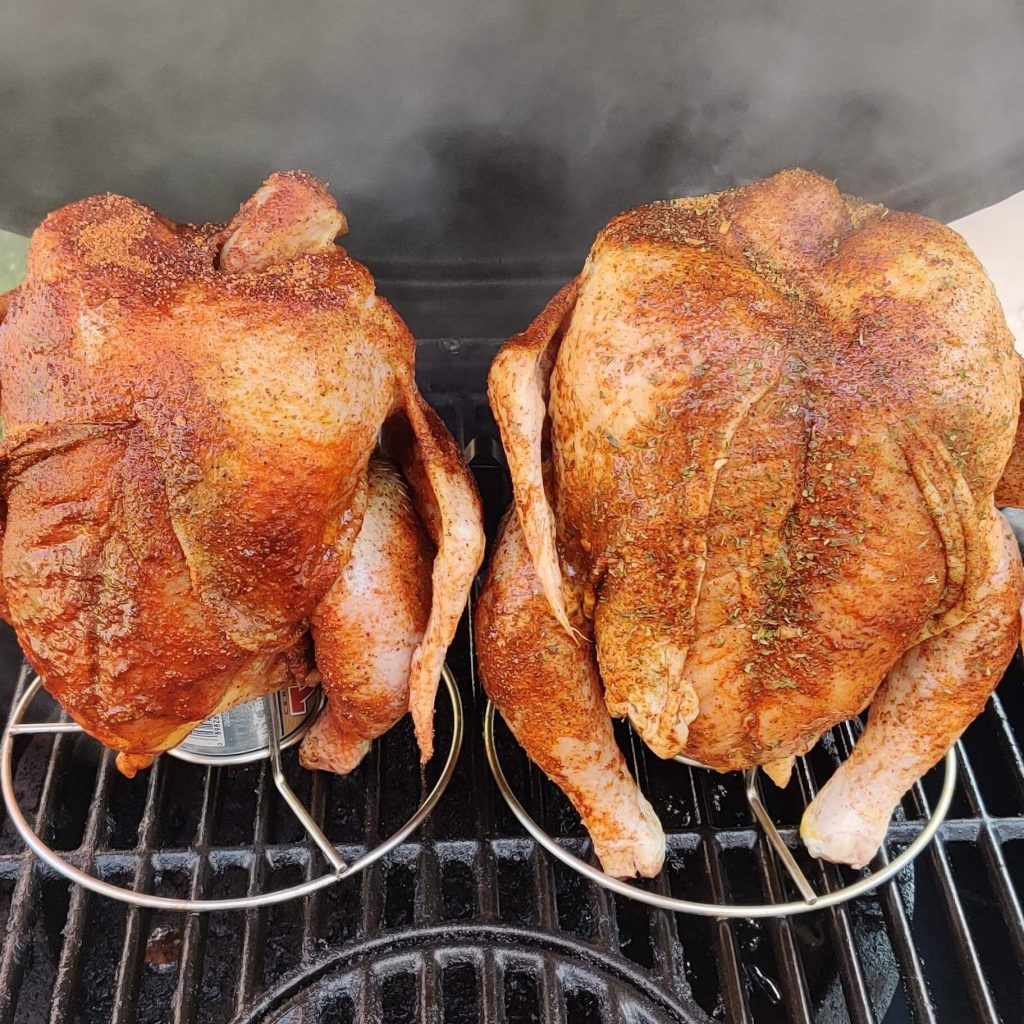 Beer can smoked chicken recipe