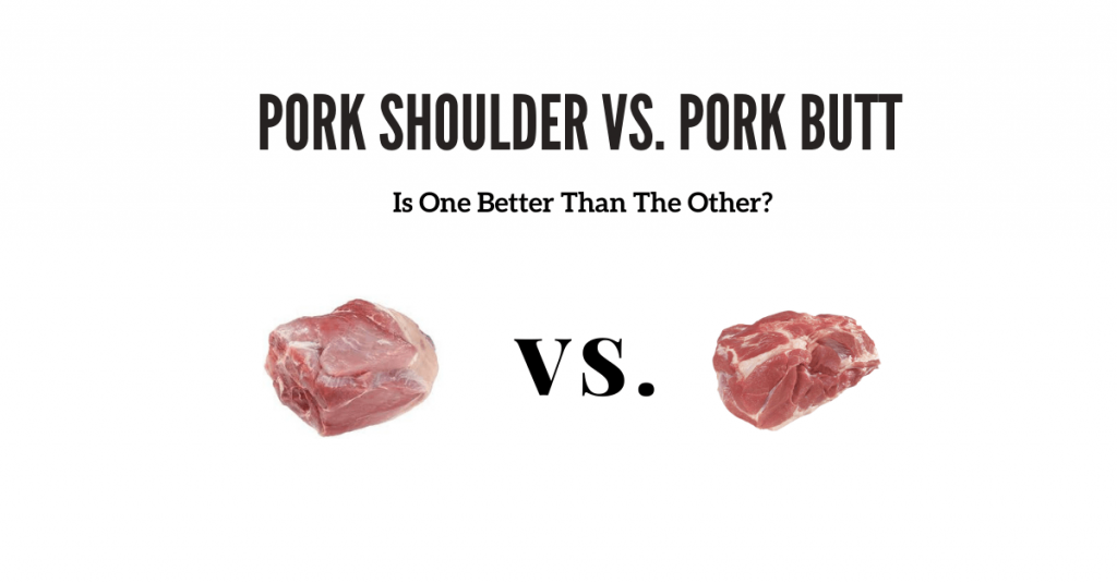 should you cook with boston butt or pork shoulder?
