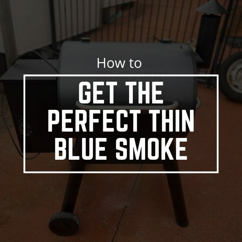 getting the thin blue smoke for my cookout