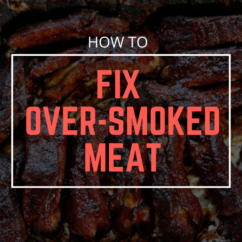 when does meat stop absorbing smoke