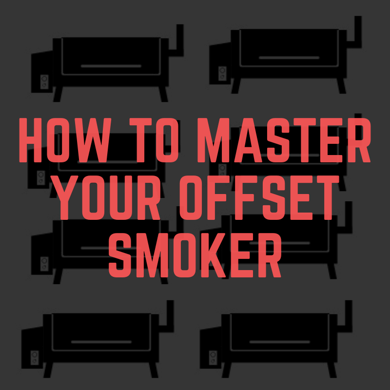 how to use a offset smoker grill in the backyard for a cookout