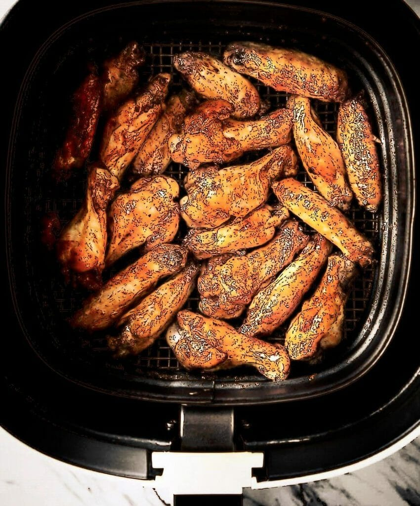 heating up my ribs in the airfryer