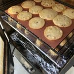 smoked chocolate chips cookies