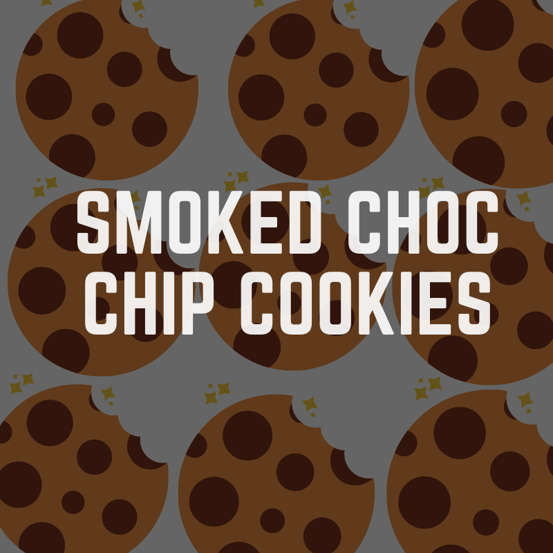smoked chocolate chip cookies recipe