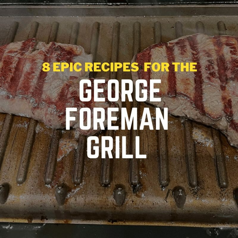 hacks for the george foreman grill