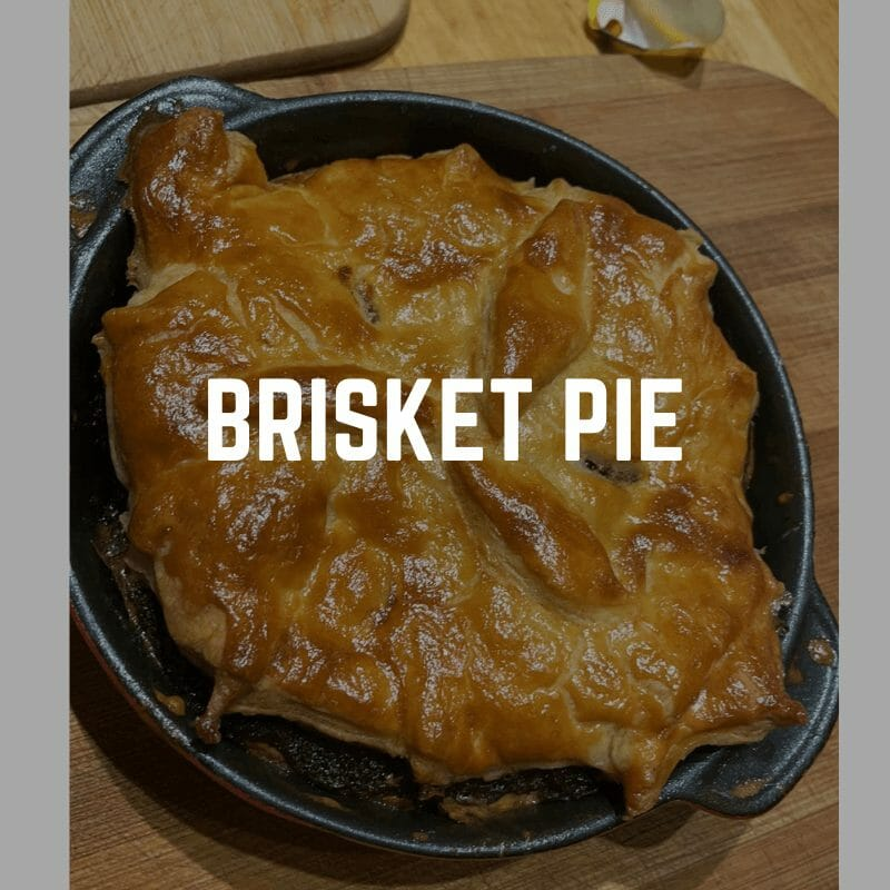 brisket pie from the leftovers