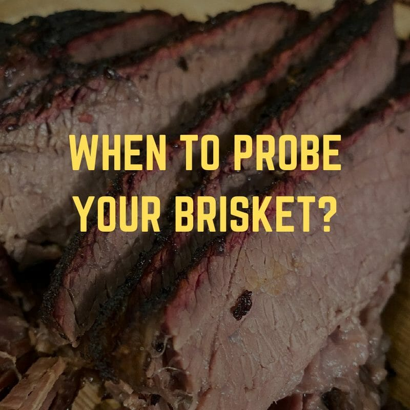 best place to put thermometer in brisket