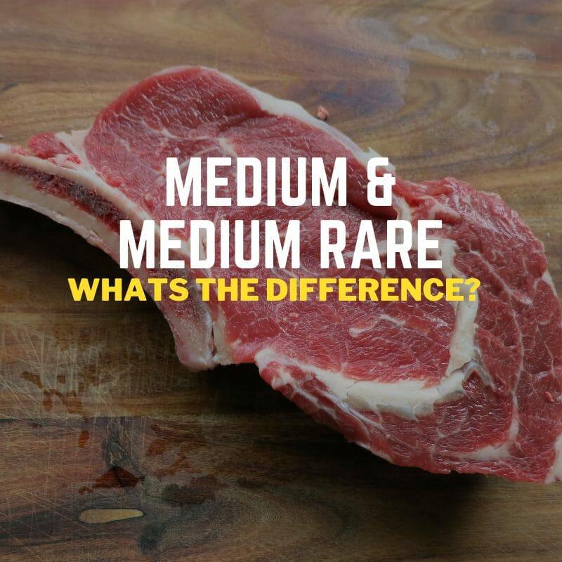 Medium & medium rare