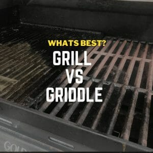 difference between griddle and grill